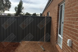1500mm Wide Gate Colorbond